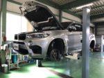 BMWF86X6M法定12カ月点検整備❗️青梅市Y様BMWF86X6M