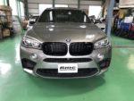 BMWF86X6M Mperformancepartsブラックキドニーグリル&サイドギル取付❗️青梅市Y様 BMWF86X6M