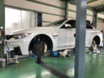 BMWF82M4BILSTEINCS車高調整❗️デモカー BMWF 82M46MT