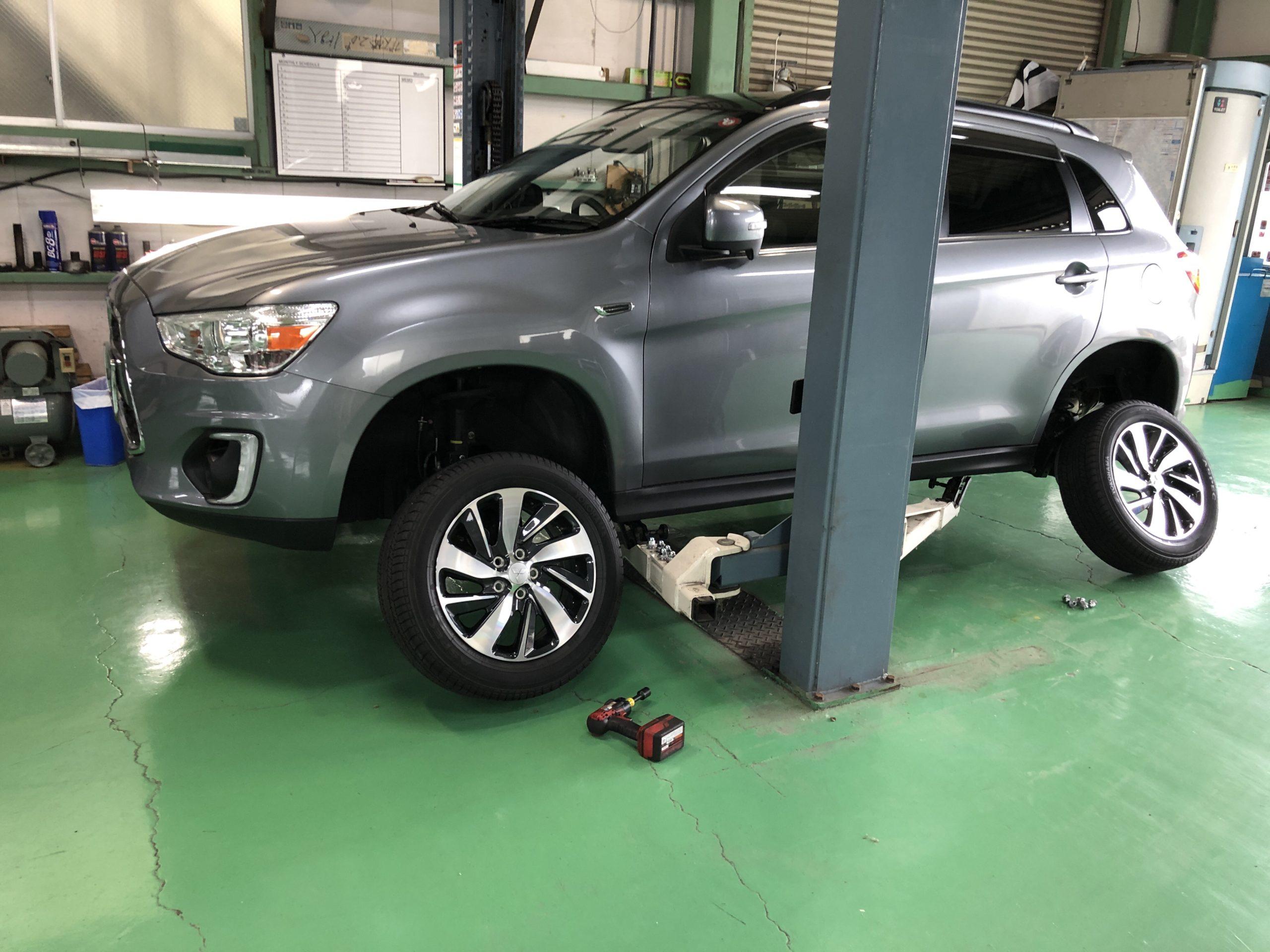 GA4WRVR スタッドレス→夏タイヤ履き替え❗️練馬区N様GA4WRVR