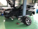 BMWF48X1Xdrive18dXLineスタッドレス→夏タイヤ履き替え