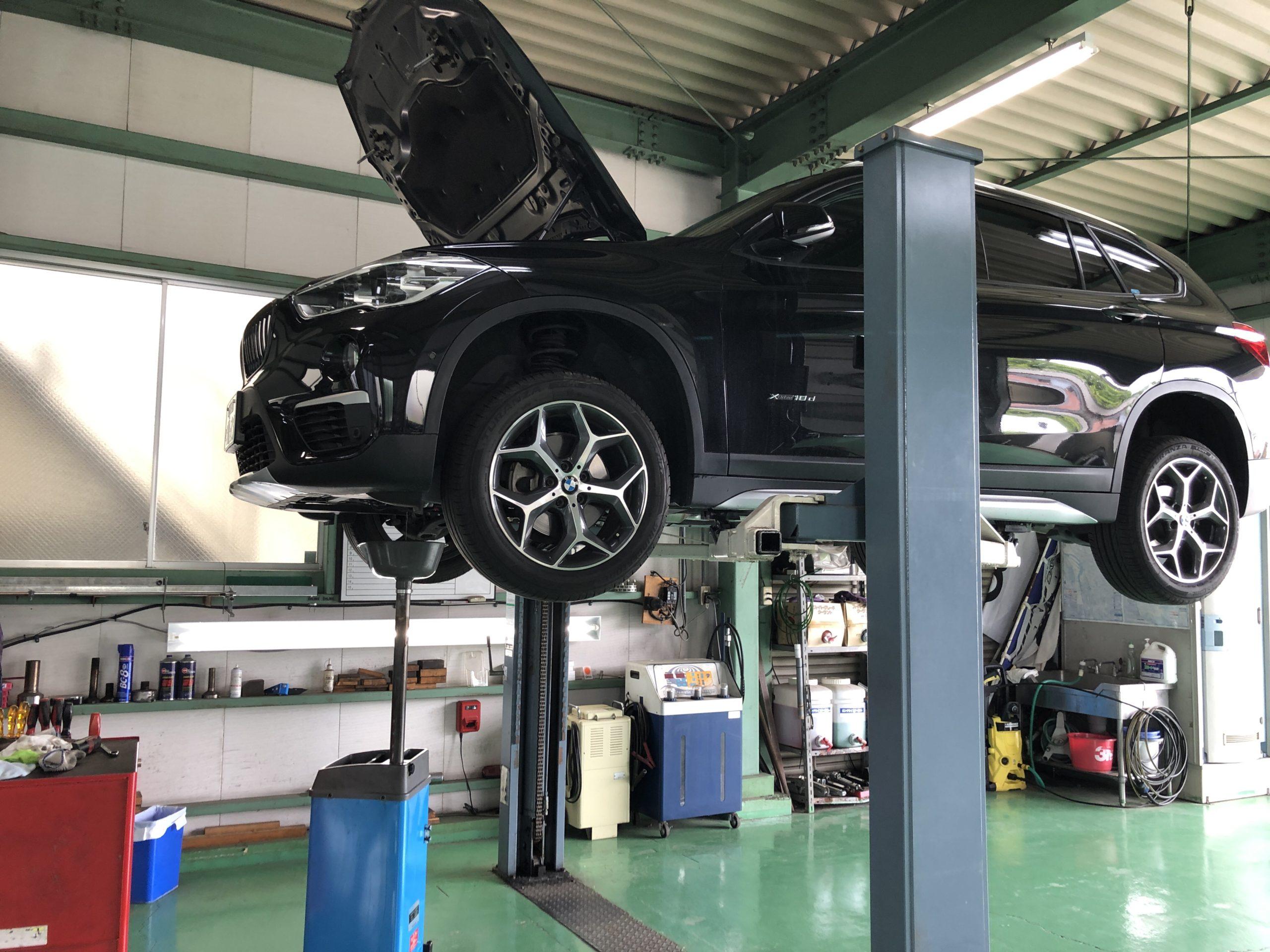 BMWF48X1Xdrive18dXLineエンジンオイル交換❗️青梅市Y様 BMWF48X1