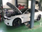 BMWF82M4弊社販売車納車整備❗️青梅市Y様BMWF82M4