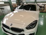 NEWデモカー❗️ BMWG29Z4M40i G'ZOXハイパービューウィンドウ撥水コーティング施工❗️