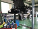 FD3SRX-7法定12ヵ月点検整備作業エンジンオイル交換❗️府中市N様FD3SRX-7