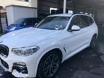 デモカー BMWG01X3Xdrive 20dMsport洗車❗️Hi-MOHS COAT THE NEO施工済み