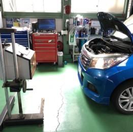 MA36SSOLIO車検 車検整備ヘッドライトの光軸調整❗️羽村市E様MA36SSOLIO