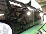 AGH30WALPHARD新車黒202Hi-MOHSCOATTHENEOハイエンド超膜厚超撥水コーティング施工作業❕青梅市M様AGH30WALPHARD新車黒202