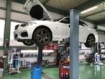 BMWF22M235iクーペ車検整備作業エンジンオイル交換、オイルエレメント交換❕長野県Y様BMWF22M235iクーペ