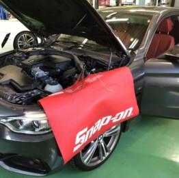 弊社販売車BMW F32 428iクーペ YUPITERU指定店モデルドライブレコーダー&レーダー探知機取付❕青梅市Y様BMW F32 428iクーペ