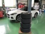BMW G29 Z4 M40i スタッドレスタイヤ→夏タイヤ履き替えしました。