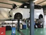MA36SSOLIO車検整備作業、エンジンオイル交換❕羽村市H様MA36SSOLIO車検整備