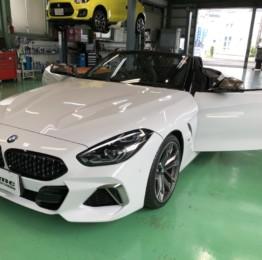 BMW G29 Z4 M40i ドライブレコーダー、レーダー探知機他取り外し作業❕