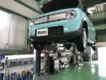 HE33S Lapin エンジンオイル交換 OMEGA Seven HV 0W20 ¥2350-/1L❕羽村市O様HE33SLapin