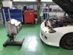 S15シルビアオーテックバージョン車検、車検整備作業❕昭島市I様S15シルビアオーテックバージョン