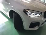 BMW G01 X3 Xdrive20d Msport ランフラットタイヤ交換MICHELIN Pilot sport 4 ZP 245/45RF20 新品2本交換しました