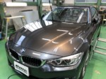 BMWF32428iクーペ G'ZOX Prime Viewフロントガラス専用撥水コーティング施工しました❗️青梅市Y様BMWF32428iクーペ