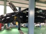弊社販売車のVAB WRX STI車検整備作業❗️車両よりディスクローターを全て外してローター研磨加工します。羽村市M様VABWRXSTI