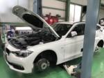 BMWF31320dLuxury車検整備作業❗️昭島市U様BMWF31320dLuxury