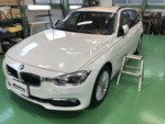 BMWF31320dツーリング G'ZOX Prime Viewフロントガラス専用撥水コーティング施工作業❗️